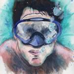 """Free Diving"" by berreyart"