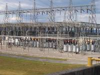 Nickajack TVA Dam With 161-kV Switchyard