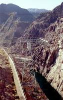 Arizona side of the Hoover Dam facility