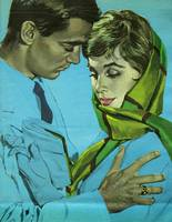 Illustration from magazine, 1962 - Couple's embrac