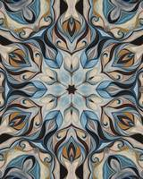 ornate elegant kaleidoscope art