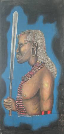 massai warrior