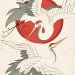 """Cranes"" by KatVanGent"