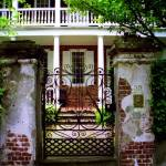 """Church Street Gate & Porch"" by PadgettGallery"