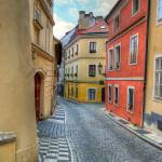 """Prague alleyway"" by lamich"