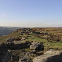 The Rocks at Curbar Edge Art Prints & Posters by Kevin R