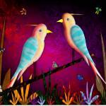 """BIRD GARDEN"" by paddyart"