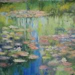 """Water Lily Pond"" by creese"