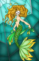 Mardi Gras Mermaid