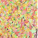 """Leaves on a fall tree"" by cruz"