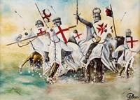 Charge of the Knights Templar
