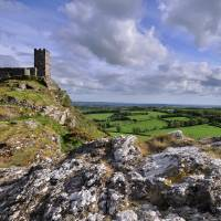 Brentor Church, Dartmoor National Park - Devon Art Prints & Posters by Dave Lawrance