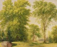 Study from Nature, Hoboken, New Jersey, c.1834