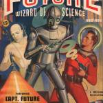 """Captain Future First Issue"" by pulps1st"