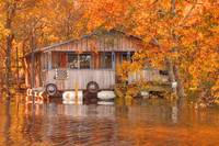 Floating Camp on the Ouachita River