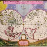 """""""map of the world ancient map"""" by imageworks"""