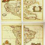 """Antique_Map_Coronelli_America_HR"" by imageworks"
