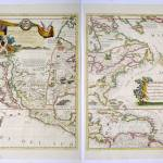"""Antique_Map_Coronelli_North_America_HR"" by imageworks"
