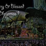 """Christmas in Singapore (Ion Orchard)"" by marieLsBalletArt"