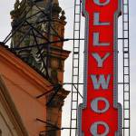 """Hollywood theatre sign rear"" by blkspruce"
