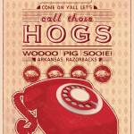 """Call Those Hogs (Distressed)"" by NaturalStatePrints"