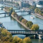 """Allée des Cygnes, River Seine, Paris"" by tinkerhess"