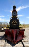 Historic Train Promontory Point - Utah