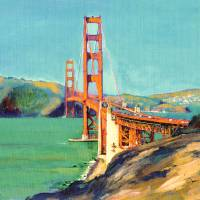 """West of The Golden Gate Bridge"" by RDRiccoboni"