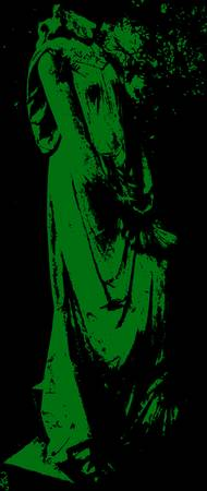 Headless Statue - Green