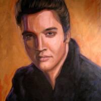 Portrait of Elvis Presley Art Prints & Posters by Shaun Cameron