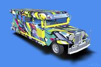 Graffiti Covered Philippine Jeepney - 3D Model