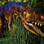 """""""Dinosaur in Reeds"""" by artstoreroom"""