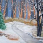 """Forest winter"" by elajanus"