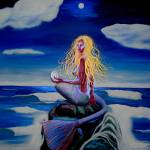 """The Mermaid Glenda"" by RhondaGreenwood"