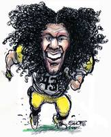Football - Silky Wildman Polamalu