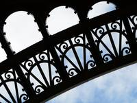 #O-5: Iron work of the Eiffel Tower, Paris, France