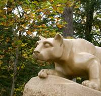 Nittany Lion in October