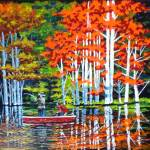 """""""Autumn Fishing in Indiana"""" by tgministry"""