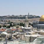 """Dome of the Rock Panorama"" by ben-eisenberg"