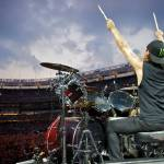 """Dave Lombardo - Slayer - Yankee Stadium"" by andrewstuartphotography"