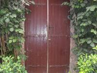 Vined doors
