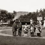 """Chinese Ceremony in Sutro Heights Park, c1890"" by worldwidearchive"