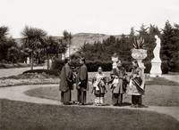 Chinese Ceremony in Sutro Heights Park, c1890