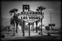 Welcome To Las Vegas Series Holga Black and White