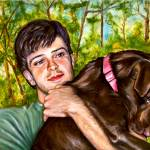 """""""Andy and Bailey"""" by ArtlbyYelena"""