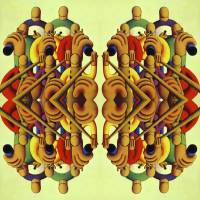 Musicial repetition composition Art Prints & Posters by alan kenny