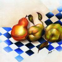 Pears on the Harlequin