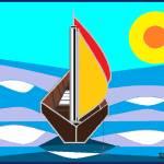 """Sail Boat"" by artbyshesh"