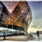 """Millennium Centre, Cardiff Bay."" by ajcronin"