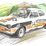 """Ford_Capri_RS3100"" by markirvine"